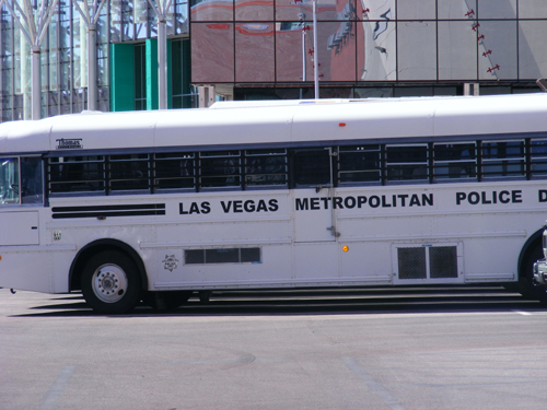 Clark County Detention Facility - Las Vegas Metropolitan Police Bus